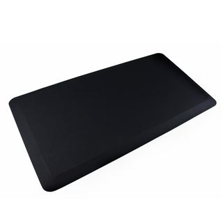 """AFS-TEX System 3000 Anti-Fatigue Mat Perfect to Use With Standing Desk Midnight Black Size 20"""" x 39"""" - 1'6 x 2'6"""