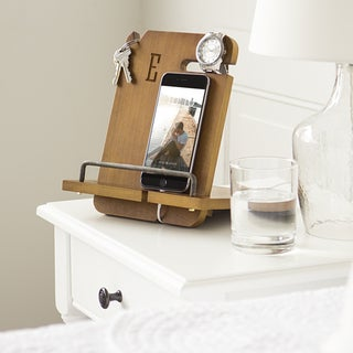 Personalized Wooden Docking Station (More options available)