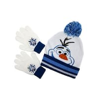 Disney's Frozen Olaf Cuffed Beanie with Gloves