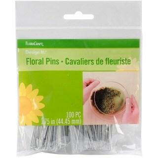 """Floral Pins 1.75"""" 100/Pkg"""
