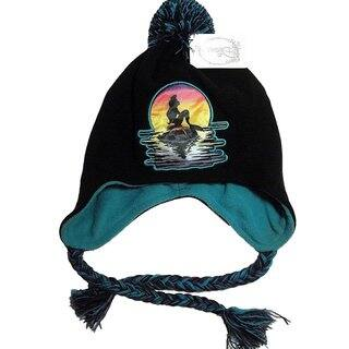 Disney's Ariel: The Little Mermaid Peruvian Cap with Pom|https://ak1.ostkcdn.com/images/products/17078133/P23351029.jpg?impolicy=medium