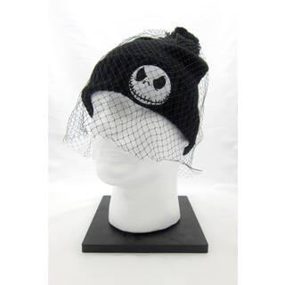 Disney's Nightmare Before Christmas Cuffed Pom Beanie with Veil|https://ak1.ostkcdn.com/images/products/17078136/P23351034.jpg?impolicy=medium