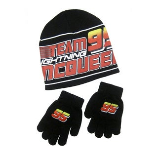 Disney's Cars Beanie with Gloves