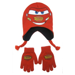 Disney's Cars Peruvian Cap with Gloves