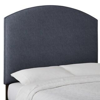 Humble + Haute Custom Textured Curved Upholstered Headboard