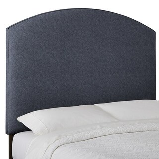 Humble + Haute Custom Textured Curved Upholstered Headboard
