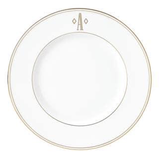 Lenox Federal Gold Block Monogram Accent Plate