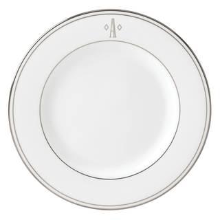Lenox Federal Platinum Block Monogram Salad Plate