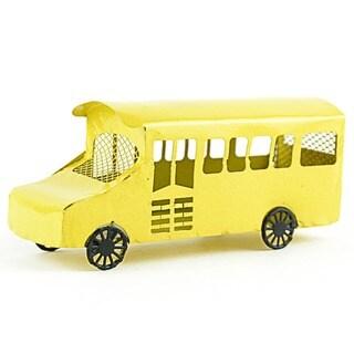 Fairy Garden School Bus