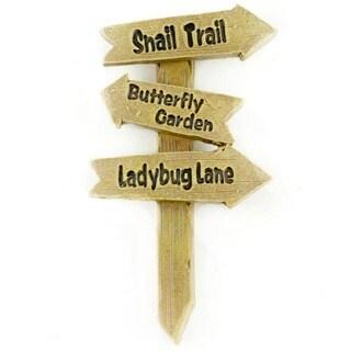 Fairy Garden Snail Trail/Butterfly Garden/Ladybug Lane Sign