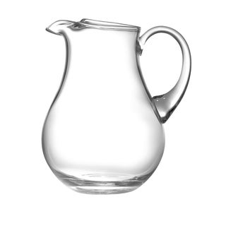 Majestic Gifts Clear European Glass Kool Aid Pitcher with Handle