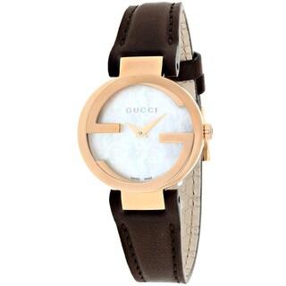 Gucci Women's YA133516 Interlocking Watches