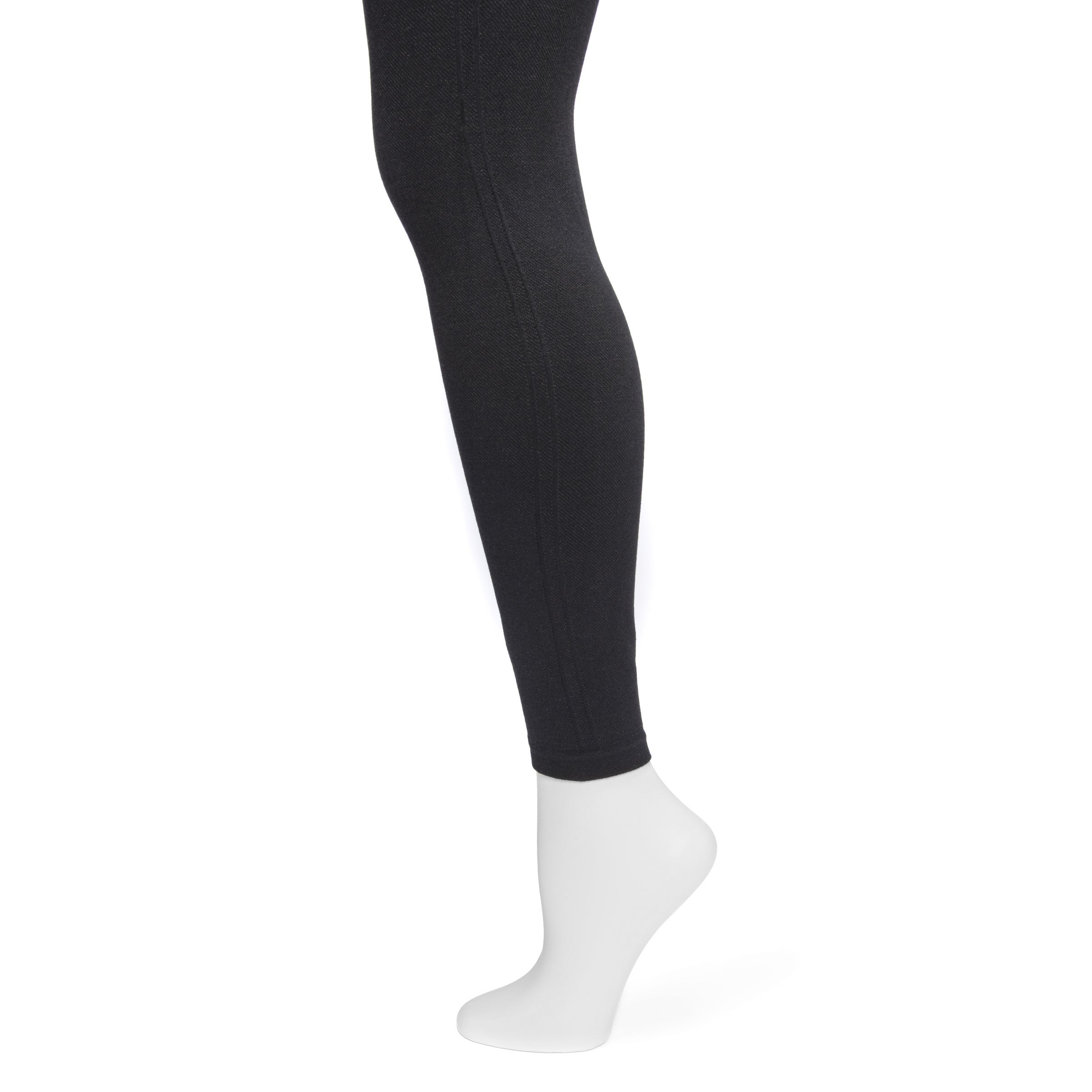 f396ffd39400f8 Shop MUK LUKS Women's Black Printed Leggings - Free Shipping On Orders Over  $45 - Overstock - 17082660