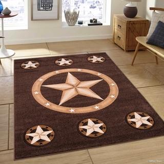 Allstar Modern Star Design Rug
