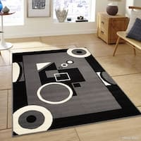 Allstar Ultra-soft Modern Geometric Design Rug