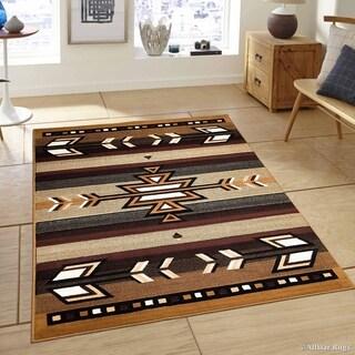 "Allstar Berber Woven Traditional Southwestern Geometric Rug (7' 7"" X 10' 6"")"