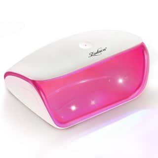 Zodaca White/ Hot Pink USB Touch Sensor LED Nail Dryer Lamp with Built-in Timer for Acrylic Gel UV Builders with Micro USB Cable|https://ak1.ostkcdn.com/images/products/17085510/P23357588.jpg?impolicy=medium