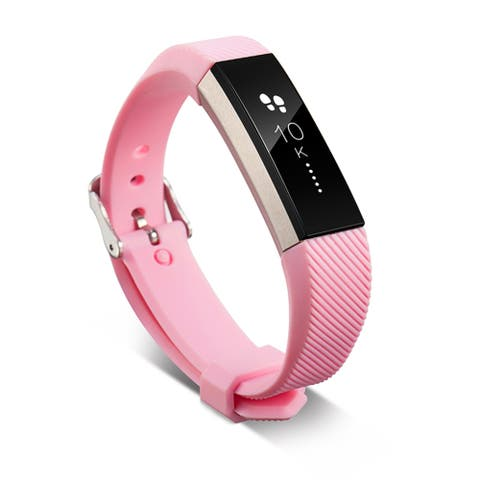 Zodaca Fitness Sports Wristband Replacement with Metal Buckle Clasp for Fitbit Alta/ Fit Alta HR