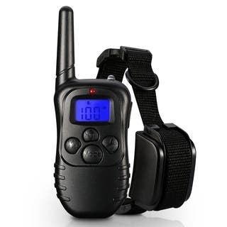 Waterproof 1 in 2 Petrainer Remote Control Electric Anti Bark Training Collar for 2 Dogs https://ak1.ostkcdn.com/images/products/17085630/P23357684.jpg?impolicy=medium