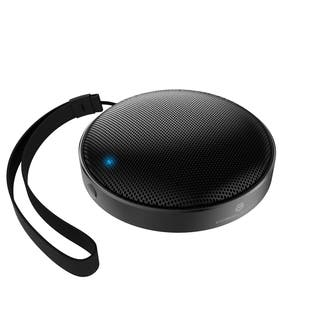Cobble Pro Black/ Grey Portable Bluetooth Speaker Wireless Aluminum Audio Speaker w/ Leather Hand Strap for Smartphones/ Tablet https://ak1.ostkcdn.com/images/products/17085693/P23357719.jpg?impolicy=medium