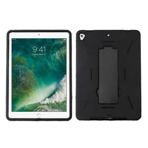 "Insten Hard Snap-on Dual Layer Hybrid Case Cover with Stand For Apple iPad 9.7"" (2017)"