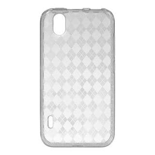 Insten Clear TPU Rubber Candy Skin Crystal Case Cover For LG Marquee LS855