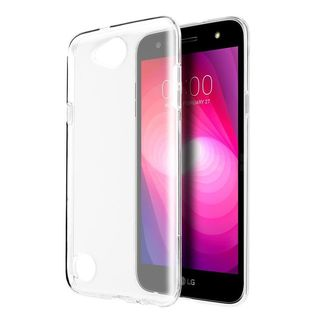 Insten Clear TPU Rubber Candy Skin Crystal Case Cover For LG X Power 2