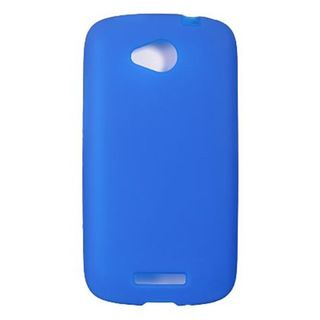 Insten Blue Soft Silicone Skin Rubber Case Cover For HTC One VX