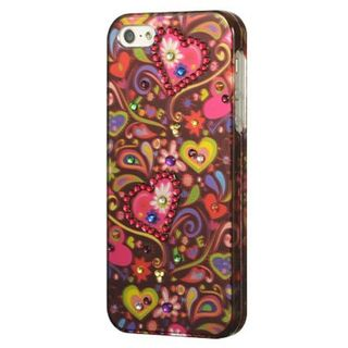Insten Multi-Color Secret Garden Hard Snap-on Case Cover with Diamond For Apple iPhone 5/5S/SE