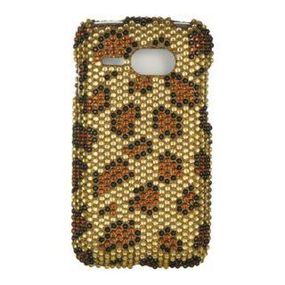 Insten Gold Hard Snap-on Diamond Bling Case Cover For Kyocera Event C5133