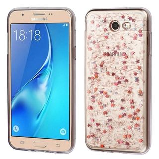 Insten Clear TPU Rubber Candy Skin Case Cover For Samsung Galaxy J7 (2017)/ J7 Perx/ J7 Prime/ J7 Sky Pro/ J7 V