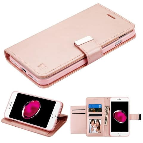fd67ed08f Insten Leather Case Cover with Stand  Wallet Flap Pouch  Photo Display For Apple  iPhone