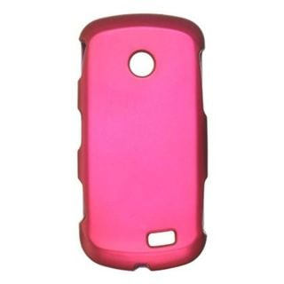 Insten Hot Pink Hard Snap-on Rubberized Matte Case Cover For Samsung Solstice II SGH-A817