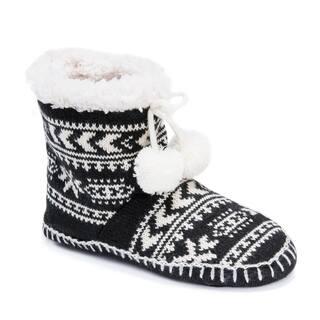 MUK LUKS® Women's Bootie Slippers|https://ak1.ostkcdn.com/images/products/17093798/P23365035.jpg?impolicy=medium