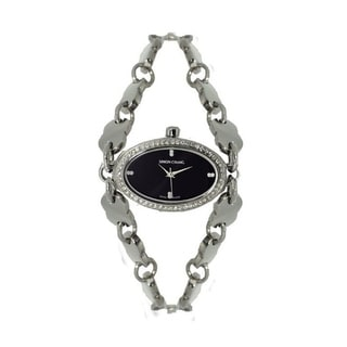 Simon Chang Exclusive Star Collection Swarovski Crystals Watch - Grey