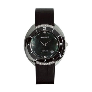 Simon Chang Exclusive Collection Black Ceramic Watch