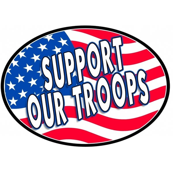 Support Our Troops Magnet For Car or Home