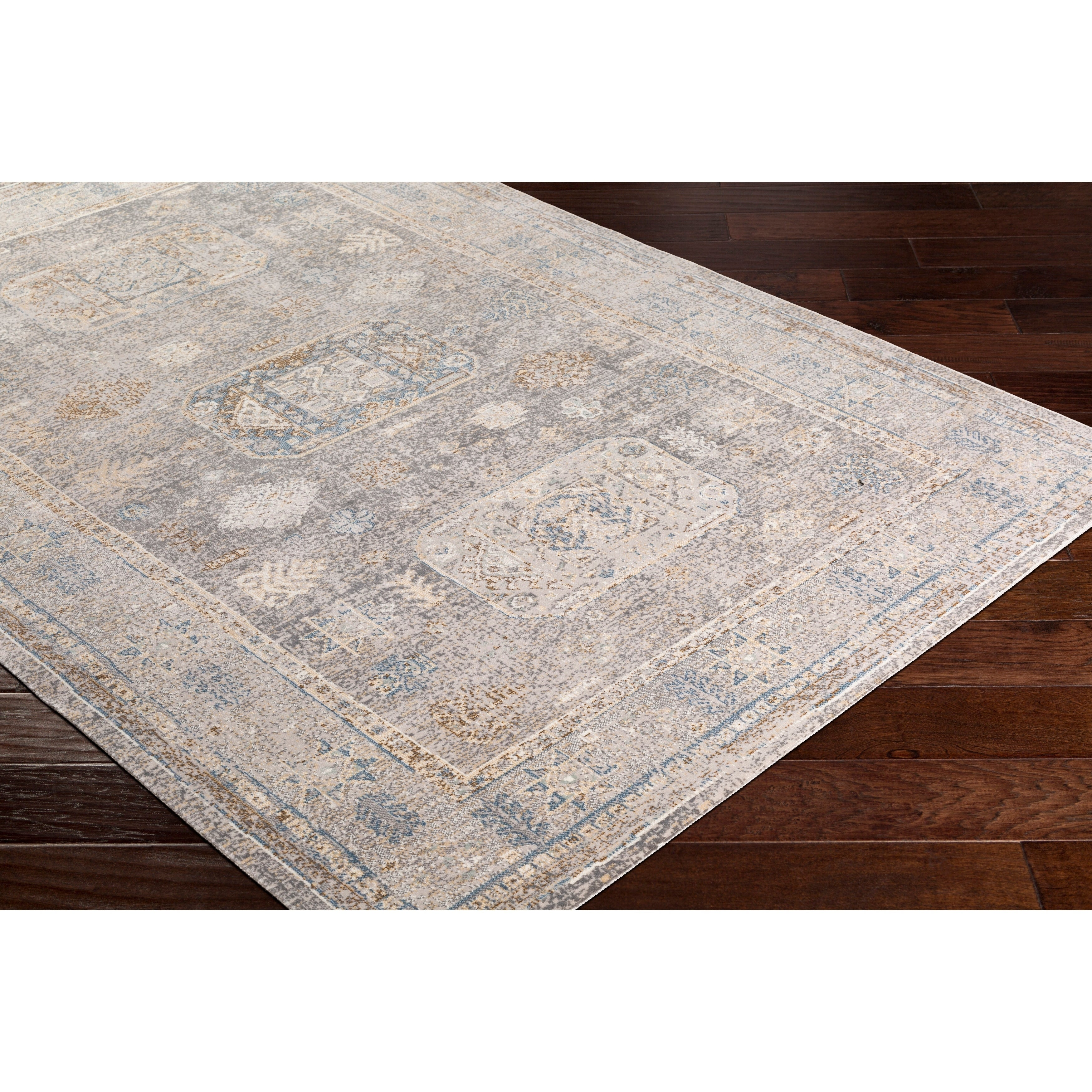 Willoby Vintage Oriental Charcoal Area Rug 5 3 X 7 3 On Sale Overstock 17095374