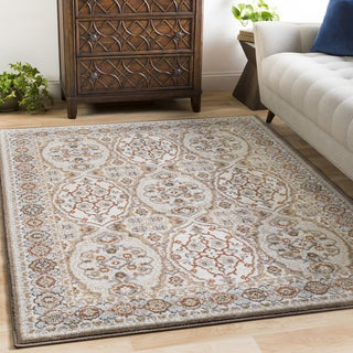 "Gracewood Hollow Owen Damask Area Rug - 5'3"" x 7'3"""
