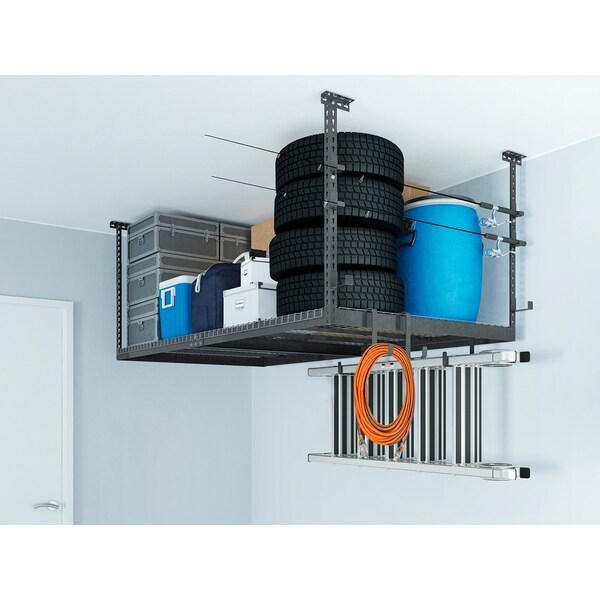 newage products versarac set with 1 overhead rack and 10 piece accessory kit versarac jhooks shooks free shipping today