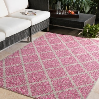 "Aranda Casual Medallion Bright Pink (5'3"" x 7'6"")"