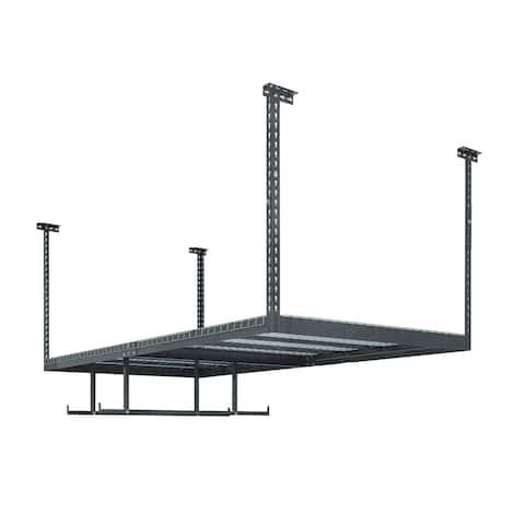 NewAge Products VersaRac Set with 1 Overhead Rack and 2 Piece Accessory Kit (VersaRac, Hanging Bars)