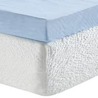 PostureLoft Serenity 3-Inch Gel Memory Foam Mattress Topper with Cover