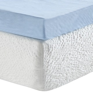 Link to Classic Brands Serenity 3-Inch Gel Memory Foam Mattress Topper with Cover Similar Items in Mattress Pads & Toppers
