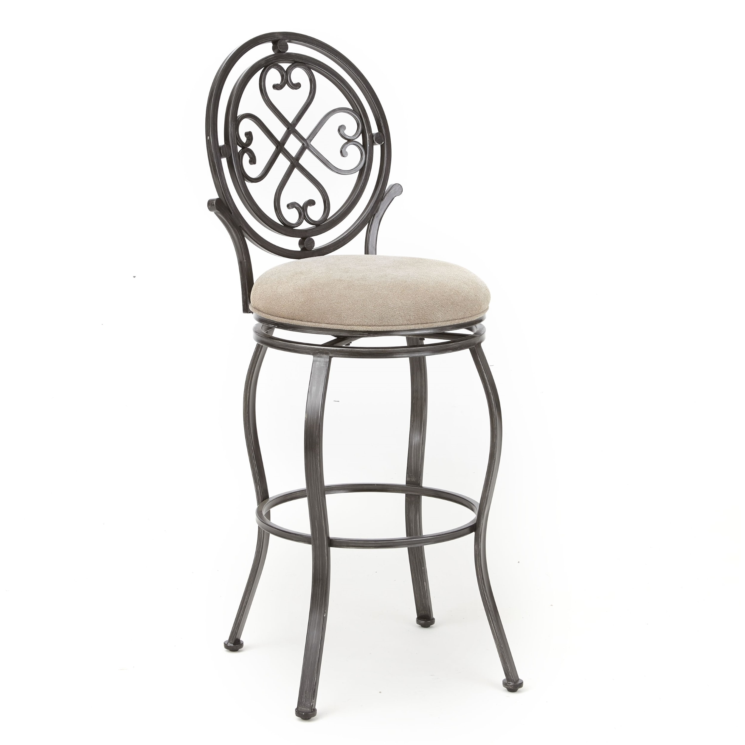 Mendon 24 Inch Swivel Counter Stool By Greyson Living 635178630140