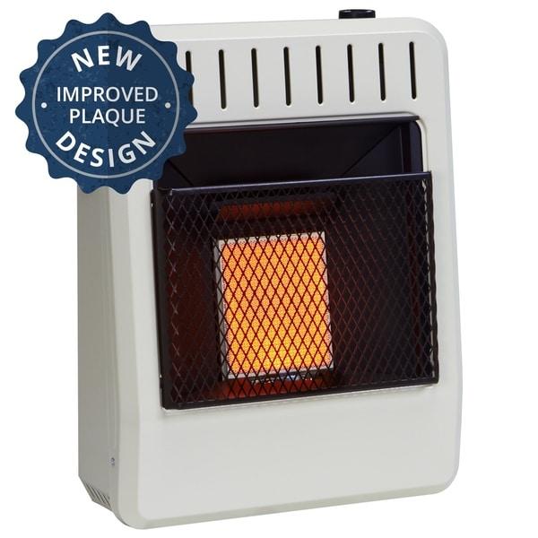 Avenger Dual Fuel Ventless Infrared Heater - 10,000 BTU, Model# FDT1IR