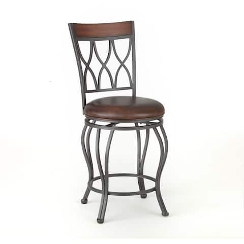 Worth 24-inch Swivel Counter Stool by Greyson Living