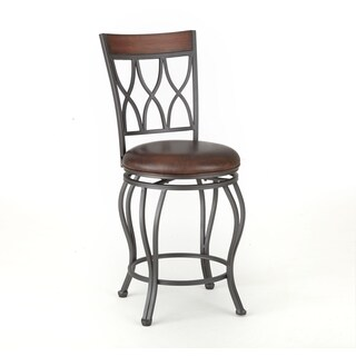 Shop Mendon 24 Inch Swivel Counter Stool By Greyson Living