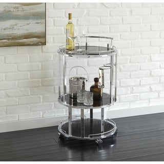Odessa Round Server Cart by Greyson Living