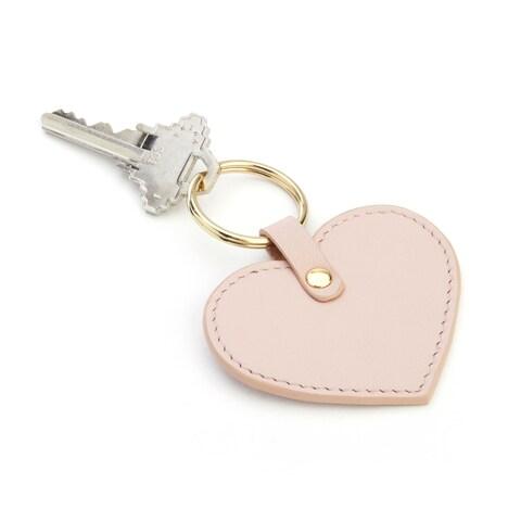 Royce Leather Heart Key Fob